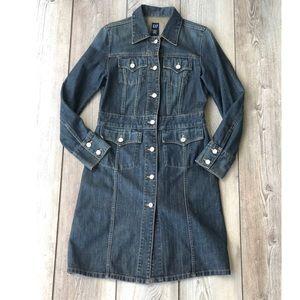 Gap Women's Long Jean Jacket